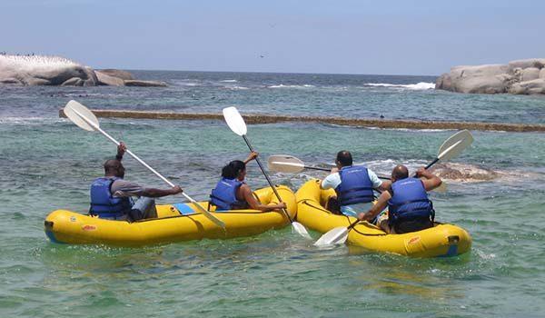 People on Rafts
