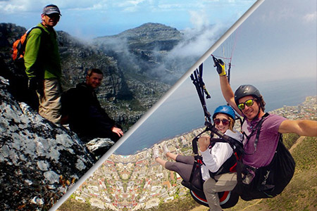 Hiking Paragliding