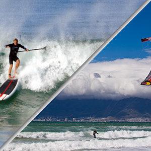 SUP & Kitesurfing
