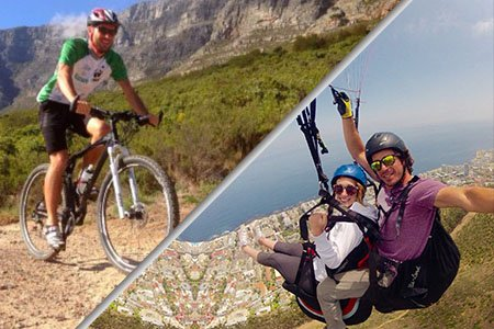 Biking and Paragliding