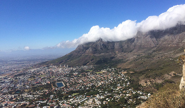 Scenery of capetown