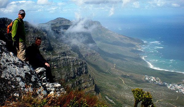 Best way to hike table mountain