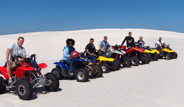 Quadbike team racing