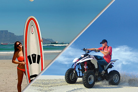 surfing & Quadbiking