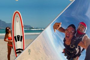 surfing & skydiving