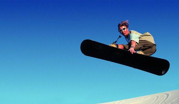 sandboard Airtime