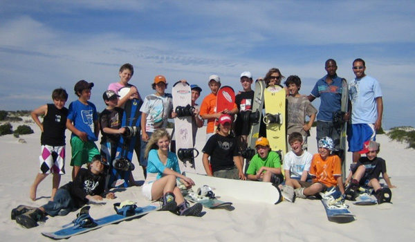 Kids Sandboard Party
